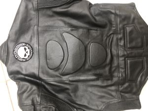 LEATHER JACKET motorcycle HARLEY DAVIDSON SIZE 48 for Sale in Homestead, FL