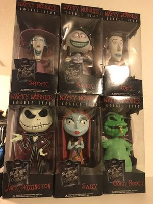 Nightmare before Christmas wacky wobblers for Sale in Pflugerville, TX