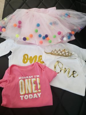 1ST Birthday Outfit for Sale in Mesa, AZ