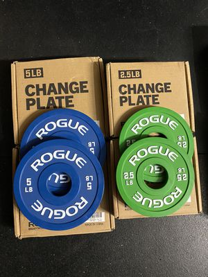 ROGUE Change Plates (2.5 + 5 lbs Set) for Sale in Pittsburg, CA