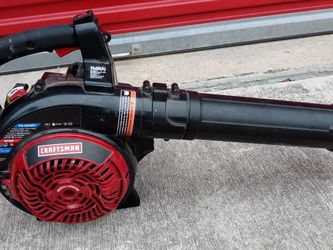 Craftsman 27 cc Gas Powered Leaf Blower / Vacuum In Excellent Condition. for Sale in San Antonio,  TX