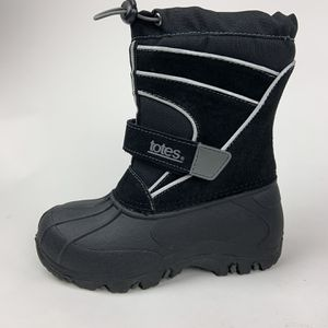 New Kids Totes Snow Boots Size 13 Black for Sale in Richmond, VA
