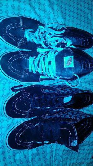 2 pairs of vans for Sale in Medford, OR