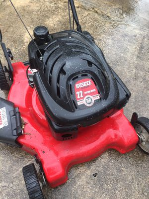 """Huskee 22"""" Push Lawn Mower Husky for Sale in Lakeway, TX"""