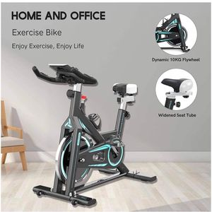 Stationary Exercise Bike Indoor Fitness Bike Flywheel Bicycle with LCD Monitor & Cup Holder for Gym Home Cardio Workout Training Bikes for Sale in Upland, CA