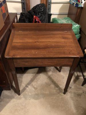 Antique flip desk for Sale in Haymarket, VA