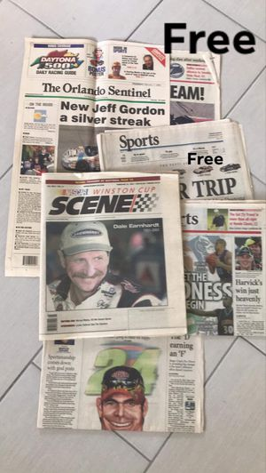 Vintage sports newspapers all for Free for Sale in Orlando, FL