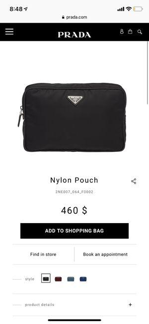 Nylon pouch Prada hand bag for Sale in San Diego, CA