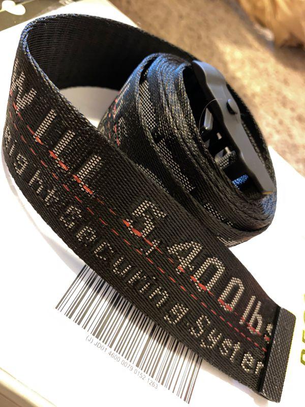 Off-White belt black
