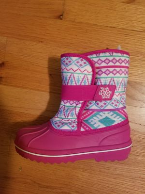 Snow Boots size 3 for kids for Sale in Fair Lawn, NJ