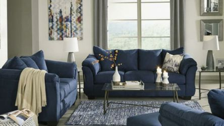 Stone Colored Sofa and Loveseat for Sale in St. Louis,  MO