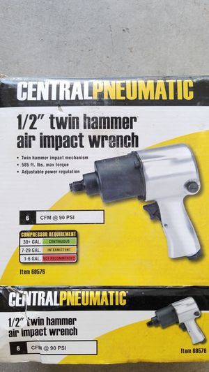 """NEW IN BOX..1/2"""" TWIN HAMMER AIR IMPACT WRENCH for Sale in Las Vegas, NV"""