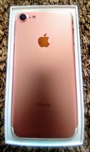 🍎 Apple iPhone 7 Rose Gold 128Gb factory unlock for Sale in Houston, TX