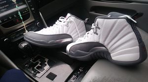 Michael Jordan 12 white and grey for Sale in Dallas, TX