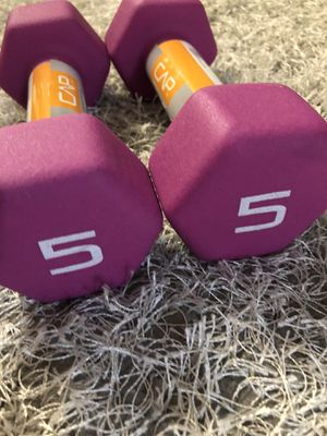 5lb dumbbell (pair) for Sale in Montebello, CA