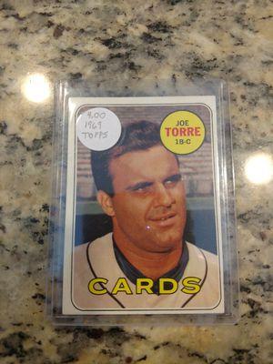 1969 Topps Joe Torre Baseball Card for Sale in Lutz, FL