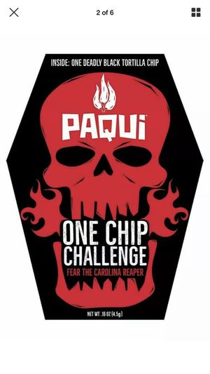 Paqui One Chip Challenge for Sale in Chico, CA