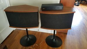 Bose 901 Series VI speakers w/stands and EQ for Sale in Grandview Heights, OH