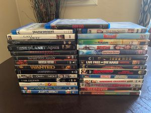 26 dvds 3 blue rays for Sale in Riverside, CA