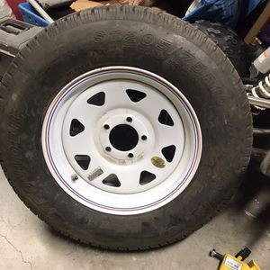 Trailer / Hauler Tire With Wheel for Sale in Spring Valley, CA