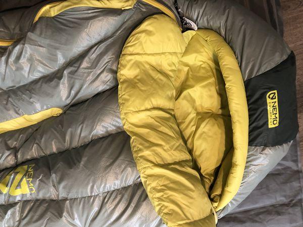 Nemo Equipment Riff 30 Women's Sleeping Bag NWT
