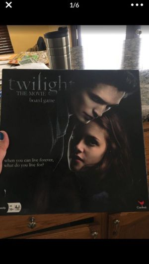 TWILIGHT THE MOVIE BOARD GAME for Sale in Fontana, CA