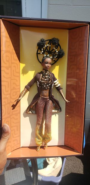 Moja treasures of Africa - barbie collectable negotiable sale for Sale in Frederick, MD