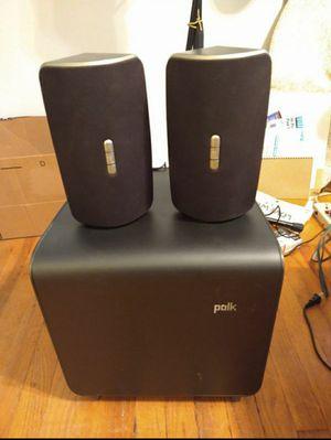 Polk Audio omni S2 and SB1 subwoofer like new for Sale in Denver, CO