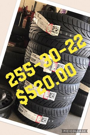 SETS OF NEW TIRES- THE BEST PRICE AROUND - 1245 NEW BERN AV RALEIGH NC (REMOVED) for Sale in Raleigh, NC