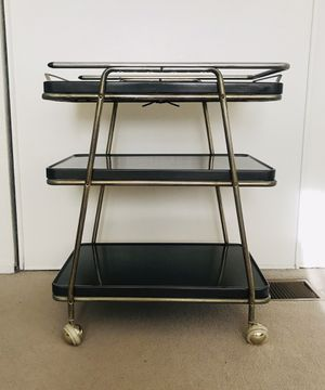 """Vintage mid-century Cosco """"Hot Top"""" Cooking Cart for Sale in Huntington Beach, CA"""