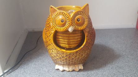 Owl Water Fountain Sculpture for Sale in Blackstone,  MA