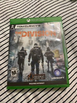 XBOX ONE THE DIVISION video game for Sale in Hacienda Heights, CA