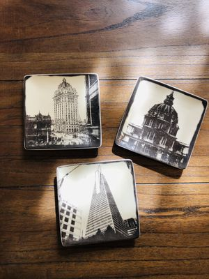 Glass Coaster Set for Sale in Arlington, VA