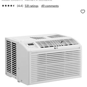 LG 6,000 BTU Window Air Conditioner with Remote for Sale in Brooklyn, NY