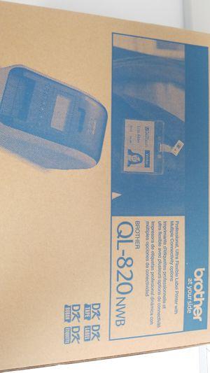 Brother QL-820nwb for Sale in Santa Clara, CA