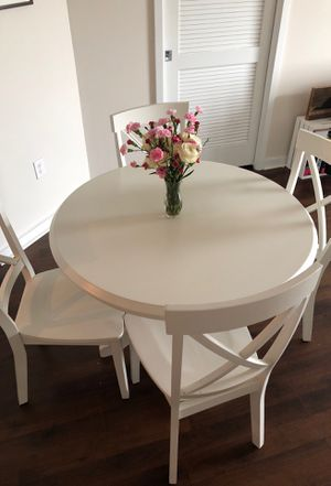 Dining Table and Four Chairs for Sale in Tampa, FL