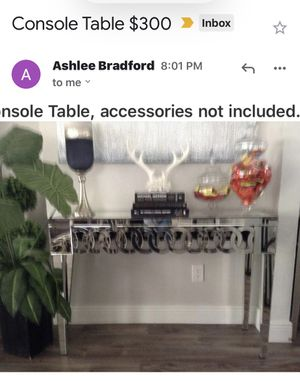 Like Brand New Console Table for Sale in Apopka, FL