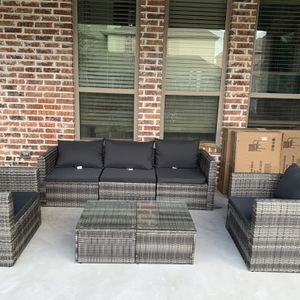 Brand New Patio 7 Piece Patio Furniture Set for Sale in Frisco, TX