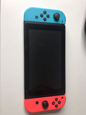 Nintendo switch with super smash bro's and carrying case. for Sale in Burlingame, CA