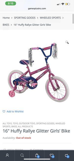 Rallye Girls training bike for Sale in Gainesville, VA