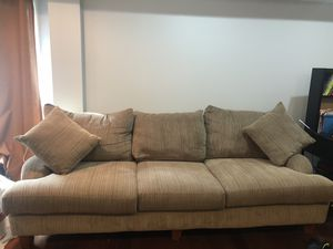 Oversized couch and love seat for Sale in Philadelphia, PA