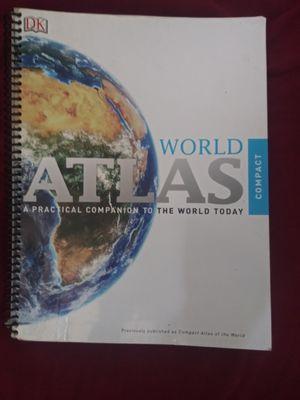 World Atlas Compact Spiral Version for Sale in San Antonio, TX