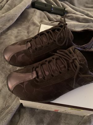 Woman's coach shoes, size 8.5, brand new in box for Sale in New Port Richey, FL