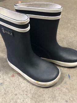 Aigle Kids Rain Boots Size 24 - USA Size 7-8 for Sale in Hayward,  CA