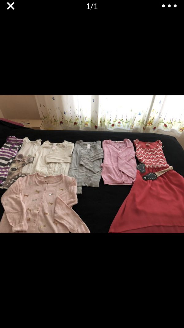 Size 7-8 fall/winter girl clothes
