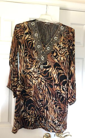 Embellished tunic top for Sale in Ashton-Sandy Spring, MD