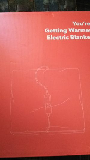 Electric blanket for Sale in Spartanburg, SC