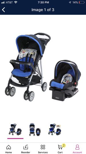 Car Seat with base + Stroller -Graco LiteRider for Sale in Muscatine, IA