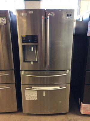 (Anoka 211VFP LM) Samsung Stainless Steel 4 Door French Door Fridge for Sale in Ramsey, MN