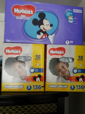 Huggies snug & Dry and Huggies little movers for Sale in Benicia, CA